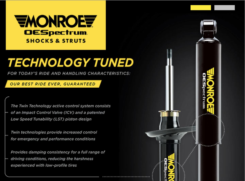 Monroe OE Spectrum Landing Page