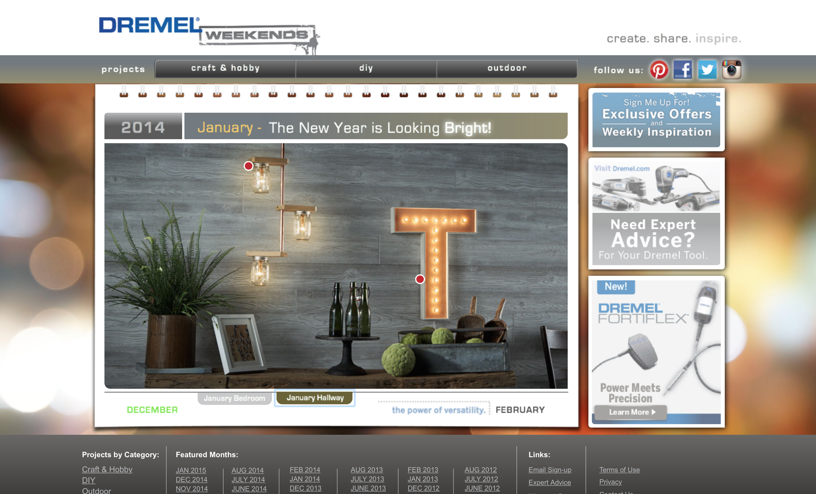 Dremel Weekends Website